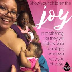 joy of mothering